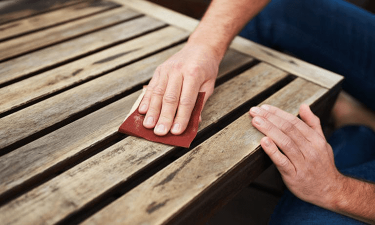 How To Distress Painted Wood With Sandpaper Where To Get Distressed Gems