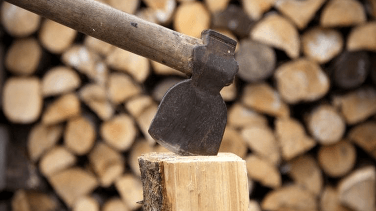 How To Make A Wooden Axe By Yourself
