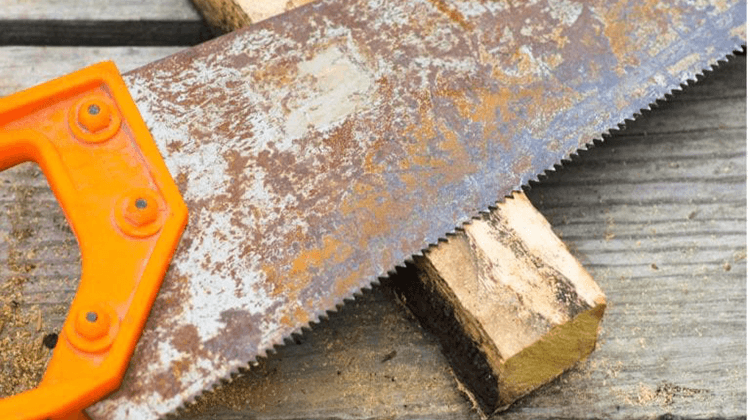 How To Remove Rust From A Hand Saw Blade: Home Remedies For Rust Removal