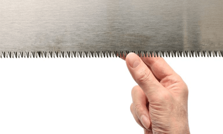 How To Sharpen A Hand Saw Blade Easy Steps To Sharpen A Hand Saw